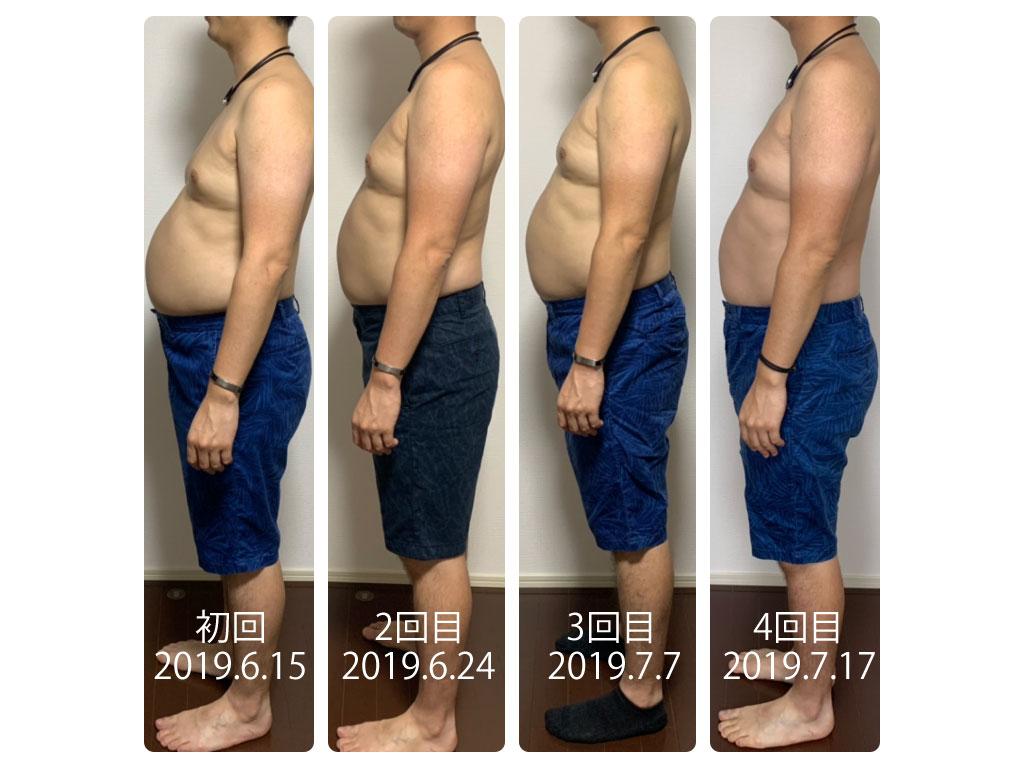 ダイエット効果1ヶ月